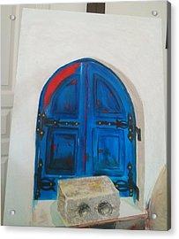 The Window Acrylic Print by Sulzhan Bali