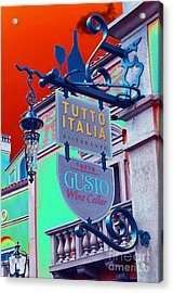 Acrylic Print featuring the photograph The Wine Cellar II by Robert Meanor
