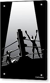 The Winner Acrylic Print by Ed Hernandez
