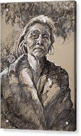The Wisdom Of Age Acrylic Print