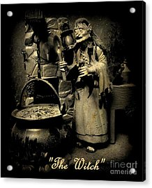 The Witch Acrylic Print by John Malone