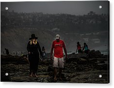 The Witch On The Beach Acrylic Print