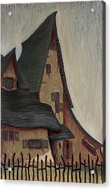 The  Witches House  Acrylic Print