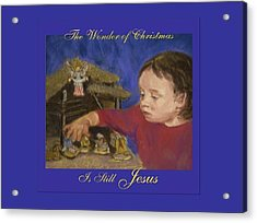 The Wonder Of Christmas Acrylic Print