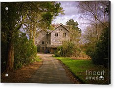 The Wooden House Acrylic Print