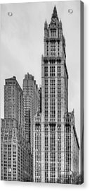 The Woolworth Downtown Acrylic Print by JC Findley