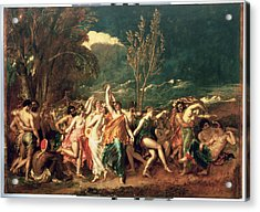 The World Before The Flood Acrylic Print by William Etty