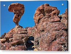 The World-famous Balanced Rock Acrylic Print