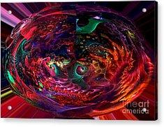Colorful Orb Acrylic Print