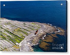 The Wreck At The End Of The Island Acrylic Print by Juergen Klust