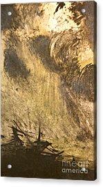 The Wreck- Mono Print Acrylic Print by Deborah Talbot - Kostisin