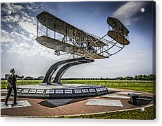 The Wright Flyer Acrylic Print by Chris Smith