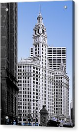 The Wrigley - A Building That Is Pure Chicago Acrylic Print by Christine Till