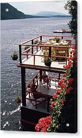 The Wyker's Deck Acrylic Print
