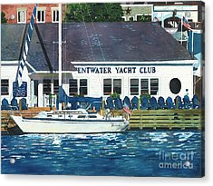 The Yacht Club Acrylic Print