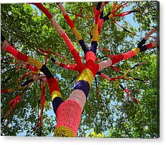 The Yarn Tree Acrylic Print