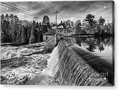 The Year Of The Flood Acrylic Print by Dan Hefle