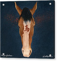 The Year Of The Horse... Acrylic Print by Will Bullas