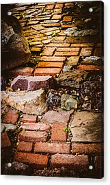 Acrylic Print featuring the photograph The Yellow Brick Road by Beverly Parks
