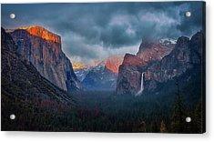 The Yin And Yang Of Yosemite Acrylic Print