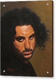 The Young Italian Acrylic Print by Gary  Hernandez