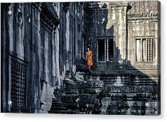 The Young Monk Acrylic Print