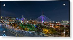 The Zakim Bridge Acrylic Print