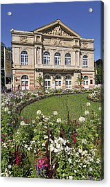 Theater Building Baden-baden Germany Acrylic Print by Matthias Hauser