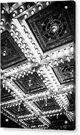 Theater Lights Acrylic Print by Melinda Ledsome