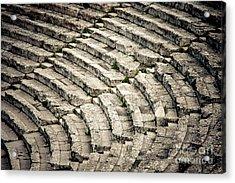 Theatre At Epidaurus Acrylic Print by Gabriela Insuratelu
