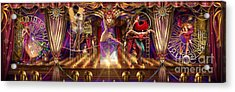 Theatre Of The Absurd Triptych  Acrylic Print by Ciro Marchetti