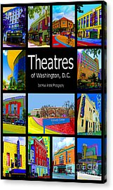 Theatres Of Washington Dc Acrylic Print by Jost Houk