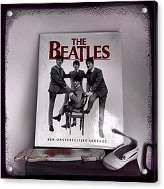 #thebeatles#bestband# Acrylic Print by Wendy Van Oosterom