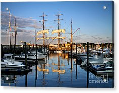 Then And Now Acrylic Print by Butch Lombardi