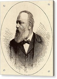 Theodor Billroth Acrylic Print by Universal History Archive/uig