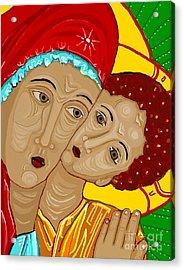 Theotokos Acrylic Print by Sarah Loft