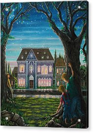There Is A House In New Orleans Acrylic Print