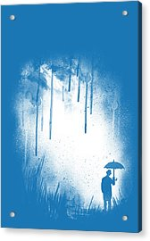 There Is Always A Way Out Acrylic Print by Neelanjana  Bandyopadhyay