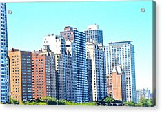 There Is No Solitude In The World Like That Of A Big City Acrylic Print