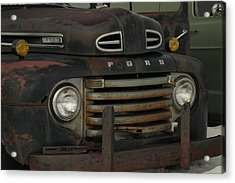 There Is Nothing Like An Old Ford Acrylic Print