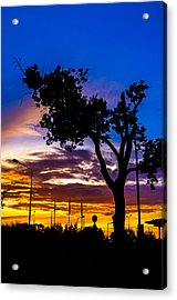There Is Something Magical About The Sky Acrylic Print