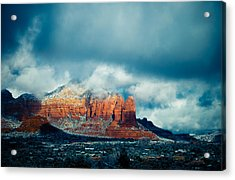 There's A Place Acrylic Print by Roger Chenery
