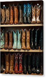 These Boots Were Made For Walking Acrylic Print