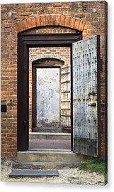 These Doors Lead To Nowhere Acrylic Print