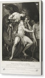 Thetis Bearing The Armour To Achilles Acrylic Print by British Library