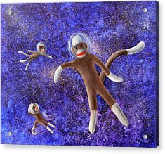 They Came From Outer Space Acrylic Print by Randy Burns