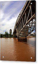 They Don't Call It Red River For Nothing Acrylic Print