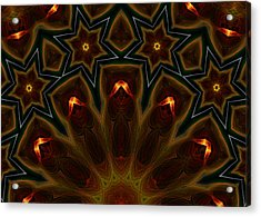 Acrylic Print featuring the digital art They Rise From The Deep by Owlspook