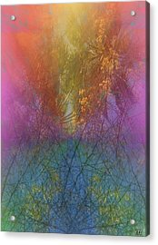 Acrylic Print featuring the digital art Thicket by Kelly McManus