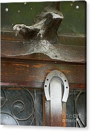 Acrylic Print featuring the photograph Thing Above The Door by Newel Hunter